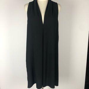 Aritzia Wilfred Black Shift Dress Size L